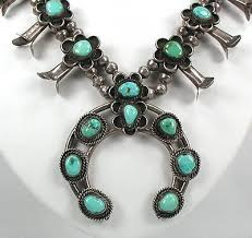 silver turquoise necklace images Squash blossom necklace native american pawn navajo sterling jpg