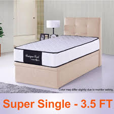 full set storage bed and 9 inch spring mattress lazada singapore