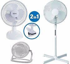 Desk Top Fans Oscillating Desk Fan Ebay