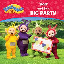 teletubbies personalised children u0027s book u0027you u0027 big party