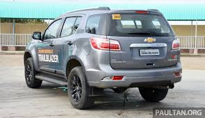 chevrolet trailblazer 2017 chevrolet trailblazer facelift being looked at for malaysia u2013 trax