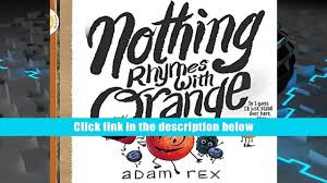 nothing rhymes with orange book online video dailymotion