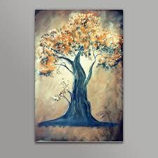 a tree painting metal prints artist pallavi rawal postergully