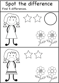 spot the difference worksheets for kids activity shelter kids