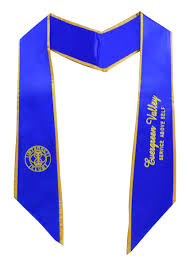 customized graduation stoles stoles with trims embroidery sash as low as 11 99 quantity