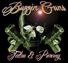 custom tattoo artists at buzzin guns tattoo studio durham