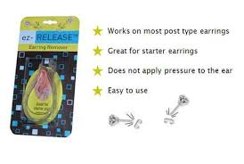 earring remover the ez release earring remover for regular ear stud earrings