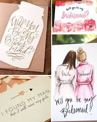 bridesmaid invitation 3 lovely ways to ask your bff to be your bridesmaid