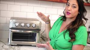 Cuisinart Toaster Ovens Reviews Pruebas Y Unboxing Air Fryer Cuisinart Toa 60 Youtube
