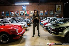 magnus walker porsche green magnus walker u0027s epic porsche garage u0026 collection superfly autos