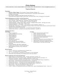 Music Resume Template Sample Music Resume Resume Examples Resume Template Musician