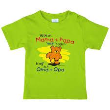 sprüche oma und opa wenn und papa nein sagen frag ich oma und opa t shirt total de
