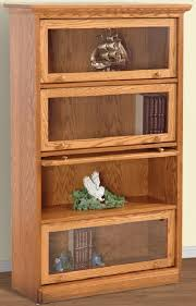 Oak Bookcases With Glass Doors Lawyer Bookshelves Glass Lawyers Doors Trinahd Me