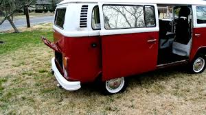 volkswagen van wheels 1977 vw bus sale youtube