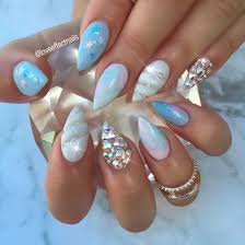 3d unicorn horn nails popsugar beauty