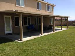 Glass Patio Covers Decorating Interesting Alumawood Patio Cover In Cream Matched
