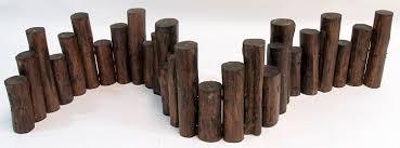 amazon com master garden products teak wood uneven top solid log