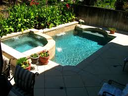 decoration knockout swimming pools small spaces glass tile and
