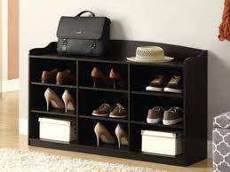 Benches Entryway Shoe Storage Benches Entryway Entryway Shoe Storage Bench At End Of