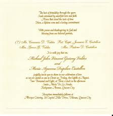 wedding invitation messages affordable sle wedding invitation wording to bring your