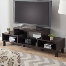 Led Tv Unit Furniture Awesome Unusual Tv Stands With Led Tv Above Two Dvd Player Front