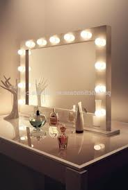 vanity mirror with lights for bedroom awesome plug in vanity