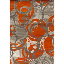 Orange Modern Rug Modern Orange Area Rugs Allmodern