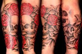 black and red rose tattoo sleeve 1000 geometric tattoos ideas