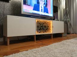 mid century ikea hack i was trying to find a tv stand that would be 160x50x50 cm the