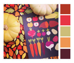 autumn color scheme for your holiday festivities