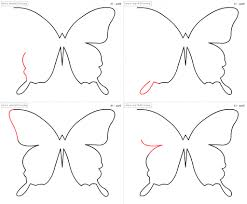 butterfly step by step drawing butterflies how to draw a butterfly