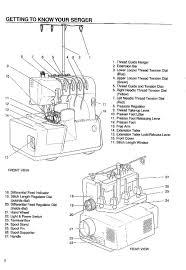simplicity sw432 serger serge pro instruction operating manual