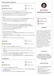 Digital Marketing Consultant Resume Online Resume Builder By Hiration