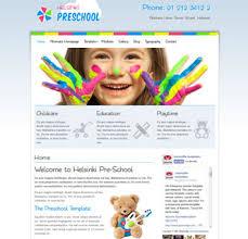 joomla education templates helsinki pre school education schools childcare