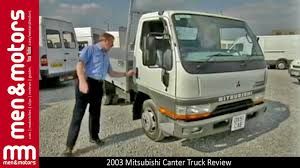 mitsubishi truck canter 2003 mitsubishi canter truck review youtube