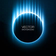 blue radiance futuristic background vector 02 vector background