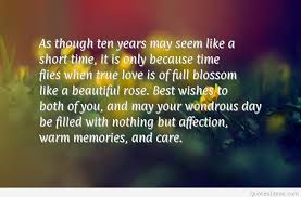 wedding quotes to parents 10rd marriage anniversary quotes wallpapers hd