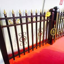 eastern ornamental fence backyard security fence aluminum fence