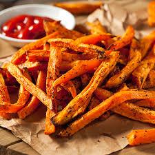 cuisine patate douce frites de patates douces cuites au four metro