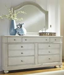 Bedroom Dresser With Mirror by Furniture Of America Bevan 6 Drawer Dresser With Mirror White