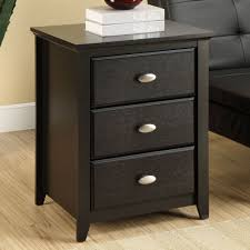 narrow end tables with storage living room contemporary living room oak end tables drawers black