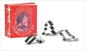 the night before christmas cookie cutter kit based on the story