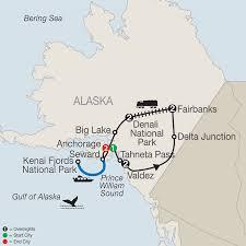 Seward Alaska Map by Alaska By Land 2018 Oddball Escapes