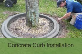curbpro concrete landscape curbing pavers in brevard and indian