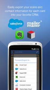 Scan Business Cards Android Scanbizcards Premium Android Apps On Google Play