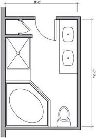 bathroom design floor plan modify this one 8x11 bathroom floor plan with double bowl vanity