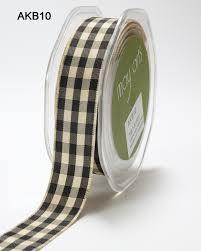 and black plaid ribbon 7 8 inch black solid checkered ribbon buy ribbons online