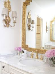 how to mix metal finishes in a bathroom
