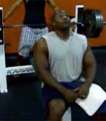 Larry Allen Bench Press Andre Girley Bench Pressed 225lbs For 46 Reps Which Is More Than
