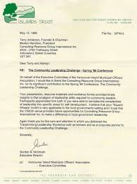 Thank You Letter For Business Partner by Letters Of Recommendation U2013 Consulting Coach U2013 Anderson Corporate